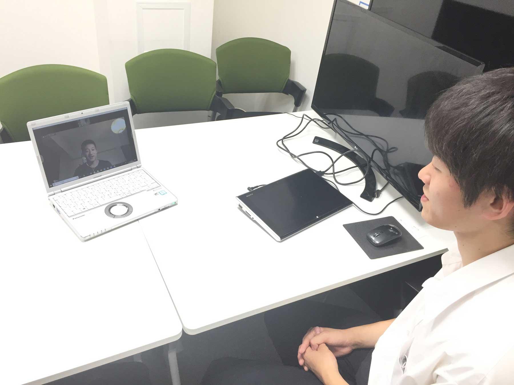 MOVED代表・渋谷雄大によるトレーニング