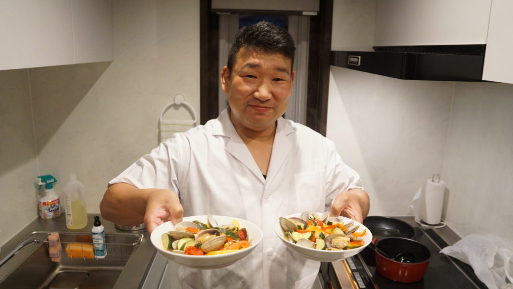 ~和食のプロを招いて夕飯作り~